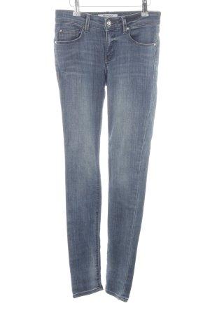 Mango Skinny Jeans neonblau Casual-Look