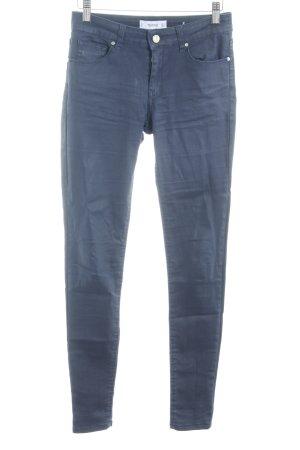 Mango Skinny Jeans dunkelblau schlichter Stil