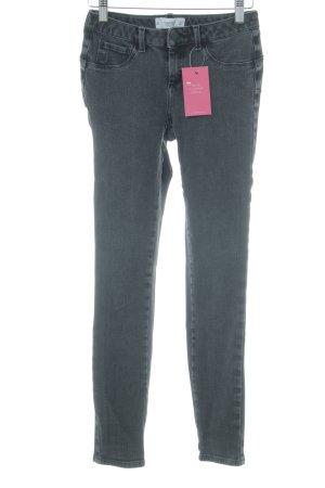 Mango Skinny Jeans dunkelgrau Casual-Look