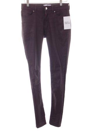 Mango Skinny Jeans dunkelviolett extravaganter Stil