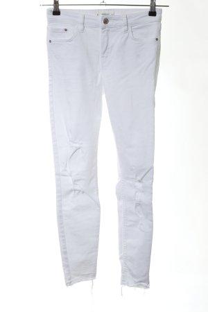 Mango Skinny Jeans hellgrau Casual-Look