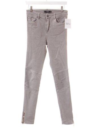 Mango Skinny Jeans grau Casual-Look