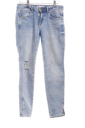 Mango Skinny Jeans light blue casual look