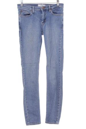 Mango Skinny Jeans hellblau Casual-Look