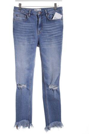 Mango Skinny Jeans himmelblau Casual-Look