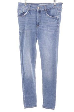 Mango Skinny Jeans himmelblau klassischer Stil