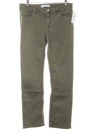 Mango Skinny Jeans khaki Casual-Look