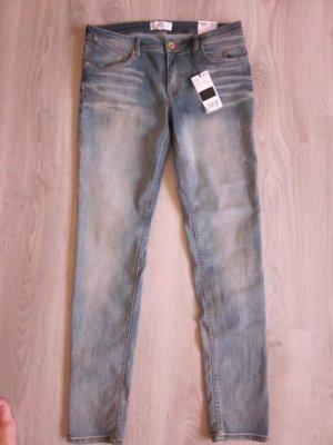 Mango Skinny Jeans Neu Hellblau Gr 44 / 34