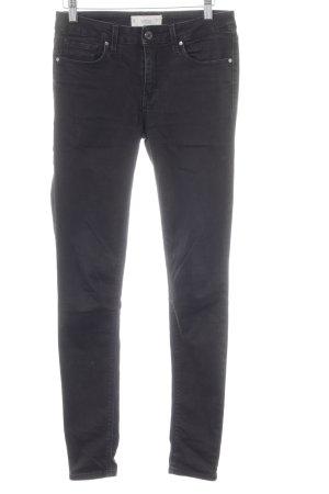Mango Skinny Jeans schwarz Casual-Look