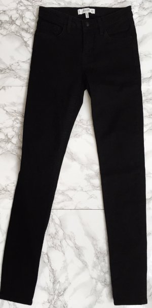Mango Skinny Jeans black mixture fibre