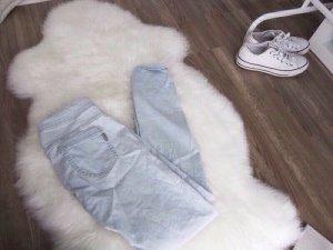 Mango Skinny Jeans Treggings hellblau Gr. 34 36 wunderschön