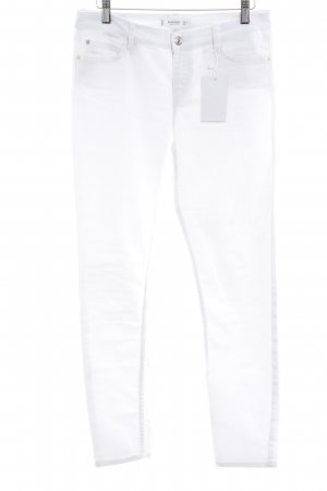Mango Skinny jeans wit casual uitstraling