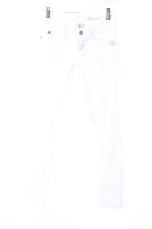 Mango Skinny Jeans weiß Casual-Look