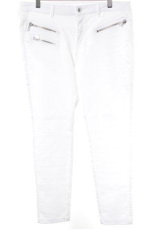 Mango Vaquero skinny blanco look Street-Style