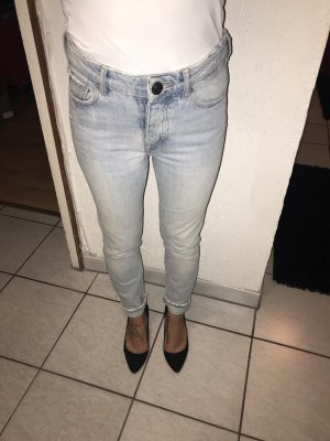 Mango Hoge taille jeans azuur