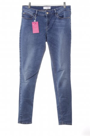 Mango Slim Jeans blau Casual-Look
