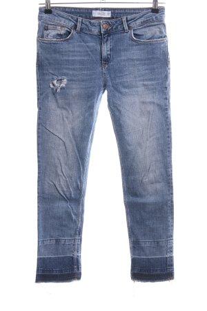 Mango Jeans slim fit blu stile casual