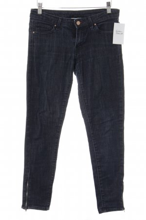 Mango Slim Jeans dunkelblau Casual-Look