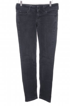 Mango Slim Jeans dunkelgrau Casual-Look
