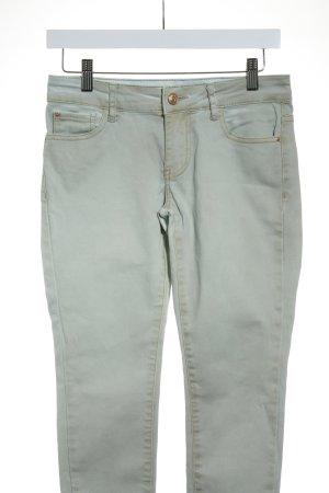 Mango Jeans slim bleu clair-marron clair lavage à l'acide