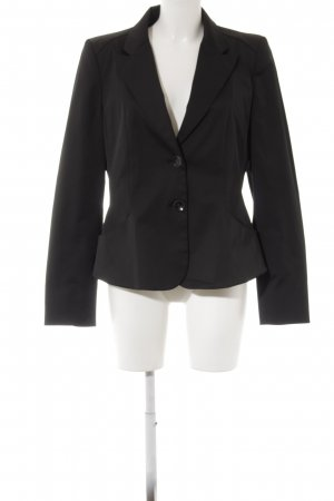 Mango Smoking-Blazer schwarz Business-Look