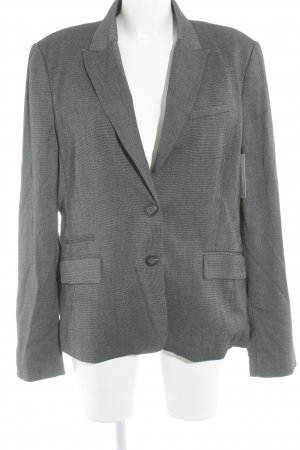 Mango Smoking-Blazer schwarz-weiß meliert Business-Look