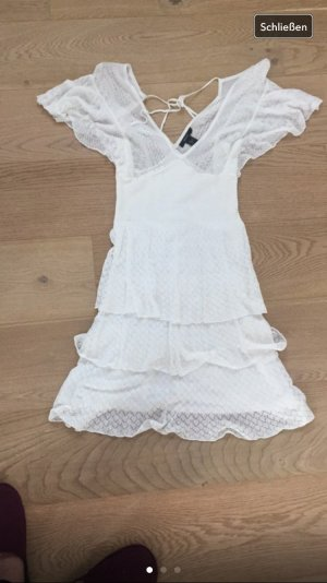 Mango Sommerkleid S weiß