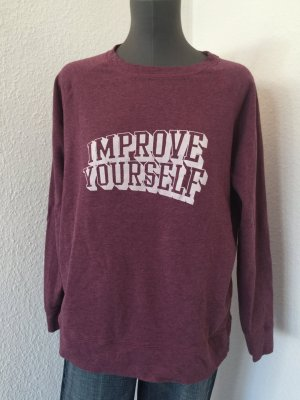 Mango Sports Sweater Pulli Improove yourself L 38/40