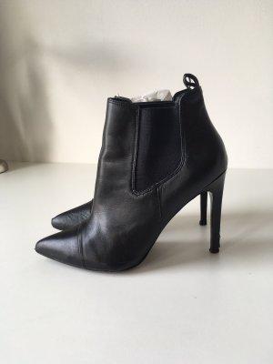 Mango Stiefelletten High Heels Ankle-Boots Gr. 40