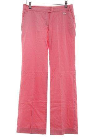 Mango Stoffhose rosa Elegant