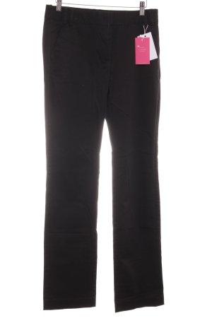 Mango Stoffen broek zwart casual uitstraling