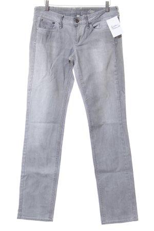 Mango Straight-Leg Jeans hellgrau Casual-Look