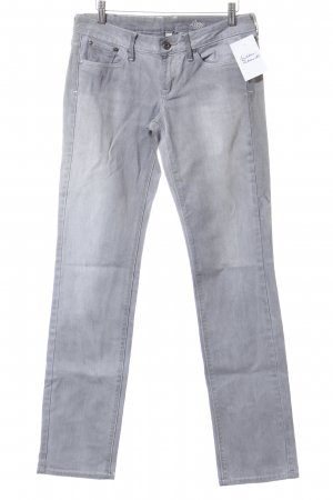 Mango Straight Leg Jeans light grey casual look