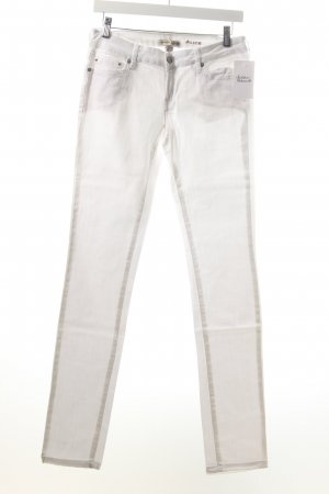 Mango Straight-Leg Jeans weiß Casual-Look