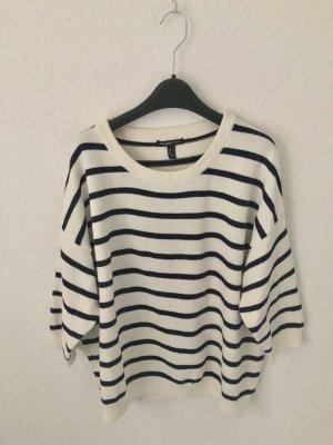 Mango Streifen Pullover