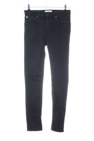 Mango Jeans stretch noir style décontracté