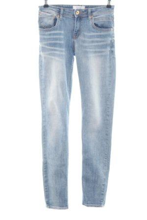 Mango Jeans stretch bleu style décontracté