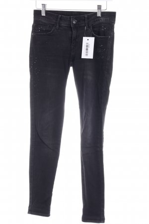 Mango Stretch Jeans schwarz Casual-Look