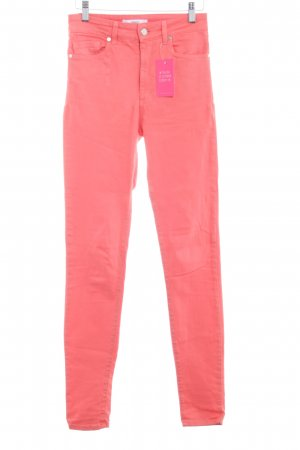 Mango Stretchhose lachs Casual-Look