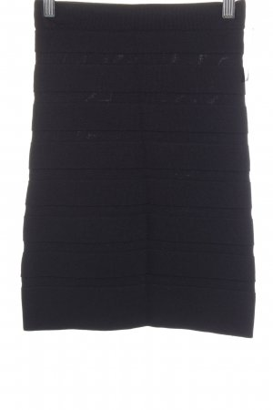Mango Stretch Skirt black classic style