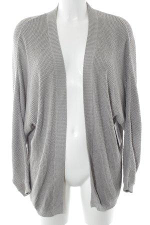 Mango Cardigan tricotés gris clair style classique