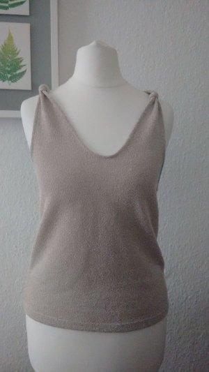 Mango Top lavorato a maglia crema-bianco sporco