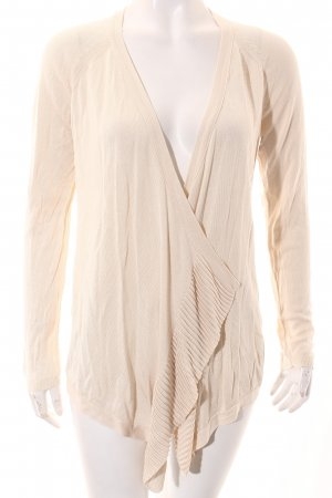 Mango Strickjacke creme Casual-Look