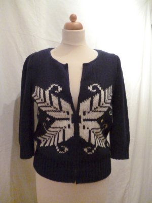 Mango Strickjacke mit Schmetterling