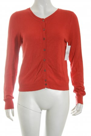 Mango Strickjacke rot Casual-Look