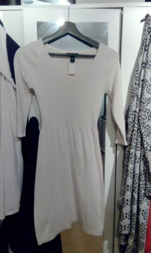 MNG Knitted Dress natural white-cream