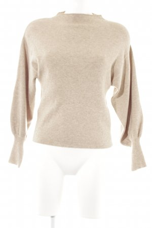 Mango Knitted Sweater beige casual look
