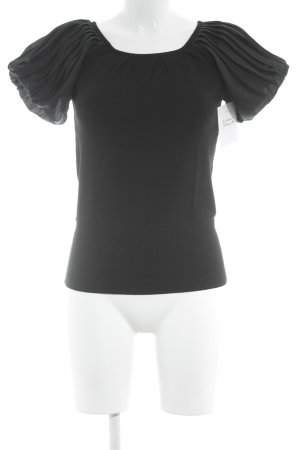 Mango Knitted Jumper black casual look