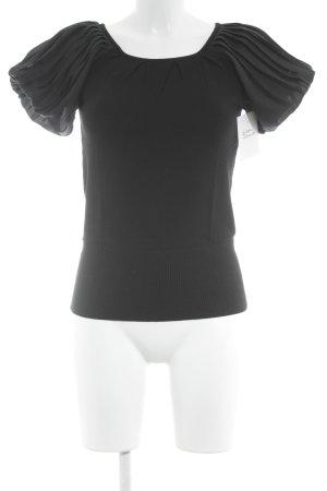 Mango Camisa tejida negro look casual