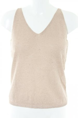 Mango Knitted Top dusky pink-rose-gold-coloured casual look